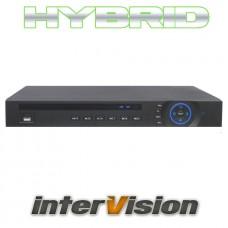 8-ми канальный гибридный видеорегистратор для аналоговых и IP камер HDR-800